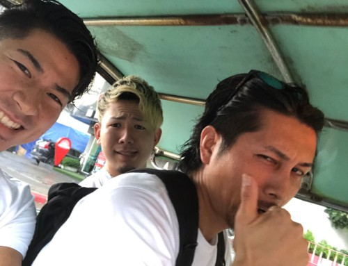 SWELLメンに「何かバンコク旅行の写真送って」と言った結果