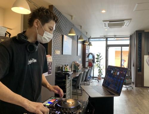 DJのいる barber