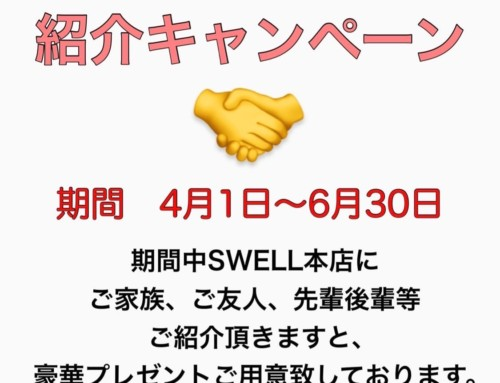 SWELL本店紹介キャンペーン